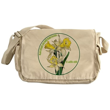 The Spring Daffodil Messenger Bag