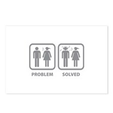 Problem Solved Postcards (Package of 8)