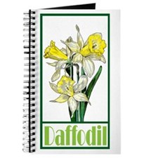 Cute Daffodil Journal
