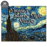 Nannie's Starry Night Puzzle
