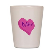 Anti Valentine Candy Meh Shot Glass