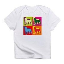 Rottweiler Silhouette Pop Art Infant T-Shirt