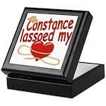Constance Lassoed My Heart Keepsake Box
