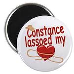 Constance Lassoed My Heart Magnet