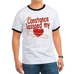 Constance Lassoed My Heart Ringer T
