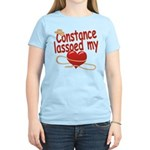 Constance Lassoed My Heart Women's Light T-Shirt