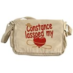 Constance Lassoed My Heart Messenger Bag