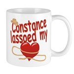 Constance Lassoed My Heart Mug