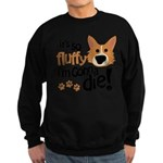 It's So Fluffy I'm Gonna Die Sweatshirt (dark)