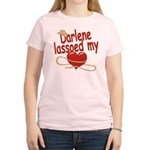 Darlene Lassoed My Heart Women's Light T-Shirt