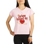 Darlene Lassoed My Heart Performance Dry T-Shirt