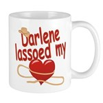 Darlene Lassoed My Heart Mug