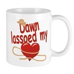 Dawn Lassoed My Heart Mug