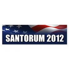 Santorum Bumper Sticker