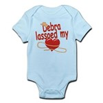 Debra Lassoed My Heart Infant Bodysuit