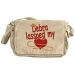 Debra Lassoed My Heart Messenger Bag