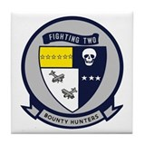 VF VFA 2 Bounty Hunters Tile Coaster