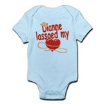Dianne Lassoed My Heart Infant Bodysuit