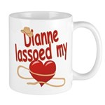 Dianne Lassoed My Heart Mug
