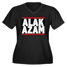 Funny Contortionist Women's Plus Size V-Neck Dark T-Shirt