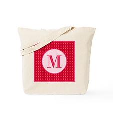 Fiery Formal Monogram Tote Bag