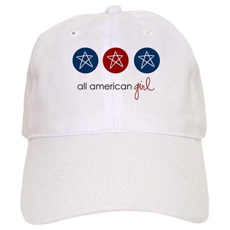 all american girl Cap