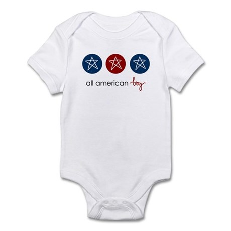 all american boy Infant Creeper
