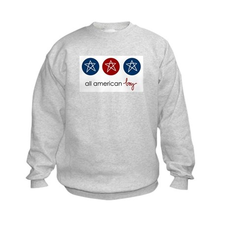 all american boy Kids Sweatshirt