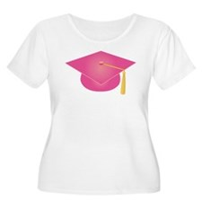 Pink Graduation Cap T-Shirt