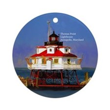 Thomas Point Lighthouse Chesapeake Bay Ornament