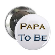 Papa To Be Button