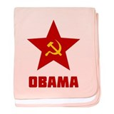 Superstar Obama baby blanket