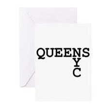 QUEENS NYC Greeting Cards (Pk of 10)