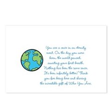 Cute World Postcards (Package of 8)