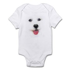 Bichon face Infant Creeper