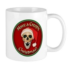 Unique Skull christmas Mug