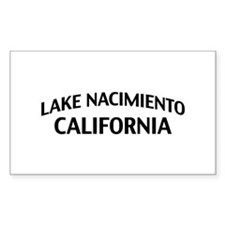 Lake Nacimiento California Decal