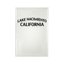 Lake Nacimiento California Rectangle Magnet