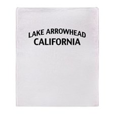 Lake Arrowhead California Throw Blanket