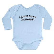 Laguna Beach California Long Sleeve Infant Bodysui