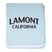 Lamont California baby blanket