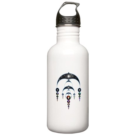 Mass Ascension Crop Circle Stainless Water Bottle