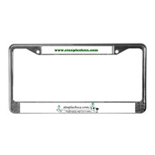 SteepleChics License Plate Frame