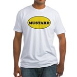 Mustard Couples Fitted T-Shirt