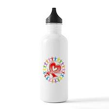 AIDS Unite in Awareness Water Bottle