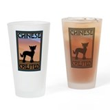 Craftsman Chinese Crested Drinking Glass