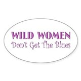 Wild Women Oval Decal