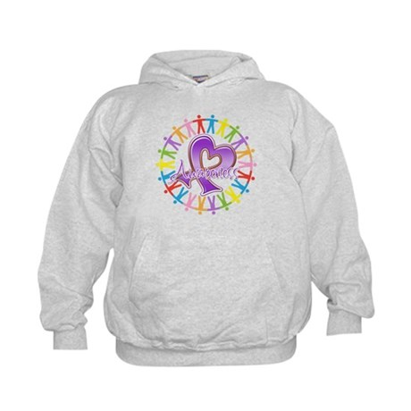 Alzheimers Unite Awareness Kids Hoodie