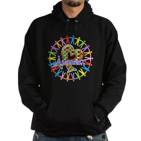 Autism Unite in Awareness Hoodie (dark)