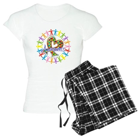 Autism Unite in Awareness Women's Light Pajamas